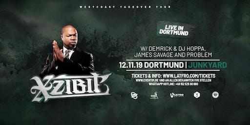 Xzibit  Live in Dortmund - 12.11.19 - Junkyard