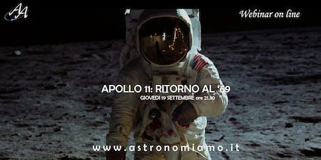 Apollo 11: ritorno al '69 in streaming biglietti