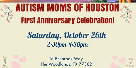 AUTISM MOMS OF HOUSTON First Year Anniversary! tickets
