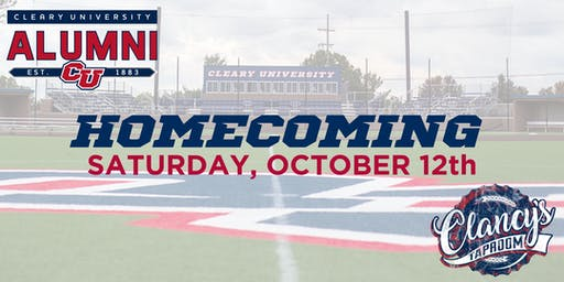 Homecoming 2019 - Alumni  Tent/Clancy's Taproom