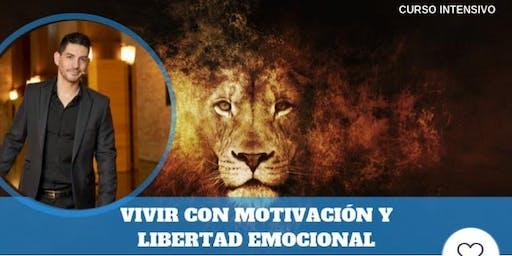 """CURSO """"VIVIR CON MOTIVACIÓN Y LIBERTAD EMOCINAL"""" EN ZARAGOZA"""
