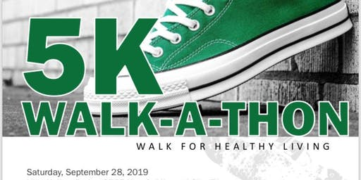 PCC Links, Inc. - 5K Walk-A-Thon Walk for Healthy Living Fundraiser