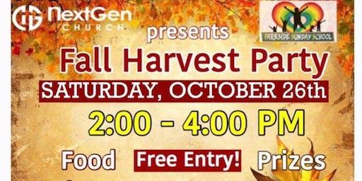 NextGen Church Fall Harvest Party