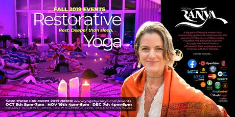 October Yoga by Ranya Restorative Yoga & Sound Healing Journey with Forrest Neumann tickets