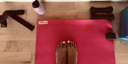 Sweat and Sample at Mighty Yoga!