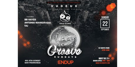 Groove Sundays Vudeux Record Release Party tickets