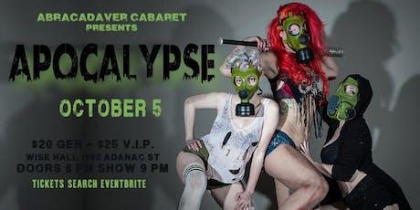 Abracadaver: Apocalypse tickets