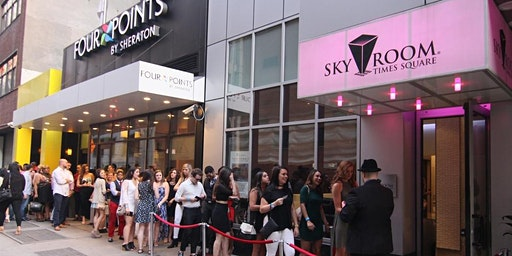 ROOFTOP PARTY FRIDAY NIGHT| SKY ROOM  NYC TMES SQUARE