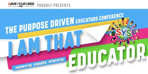 PURPOSE DRIVEN EDUCATORS CONFERENCE