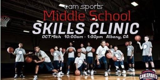 CAM Sports Middle School Skills Clinic