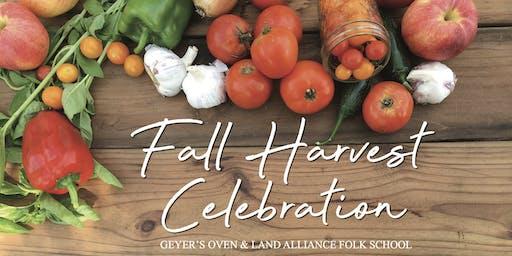 Fall Harvest Celebration