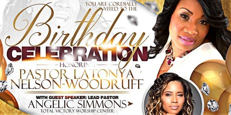 Birthday Celebration for Pastor Latonya Nelson-Woodruff tickets