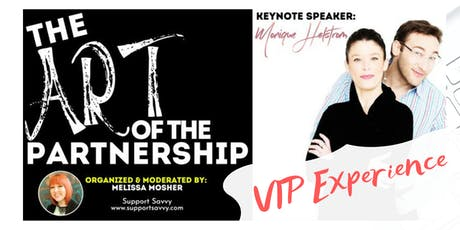 [VIP] The Art of The Partnership with Monique Helstrom tickets