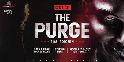 The Purge: Halloween (VENTA A TRAVES DE INSTAGRAM DEL EVENTO)