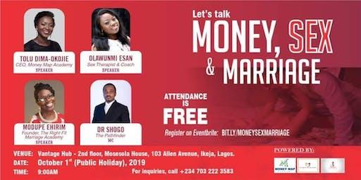 Let's Talk: Money, Sex & Marriage