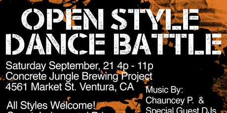 Open Style Dance Battle tickets