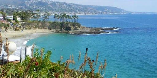 Plein Air Painting 11/16 at Crescent Bay Point, Laguna