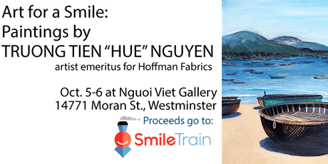 Art for a Smile: Paintings by Hue Nguyen tickets