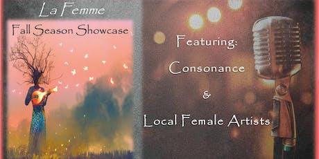 The Consonance Project presents: La Femme Cambiare Fall Showcase tickets