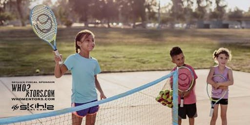 Family Volunteering: Assist Open Tennis Play Opportunity For Youth To Learn
