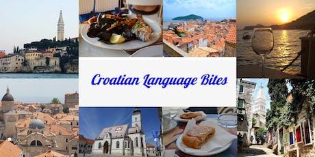 Croatian Language Bites tickets
