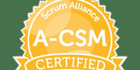Advanced Certified Scrum Master® boletos