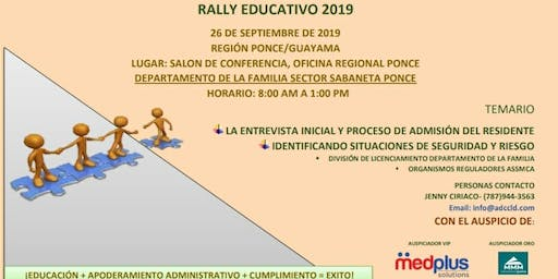 Rally ADCCLD 2019, Region Ponce / Guayama