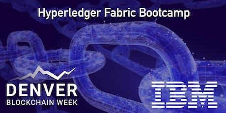 Hyperledger Fabric Bootcamp tickets