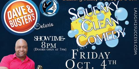 TLC Squeaky Clean Comedy Night Fundraiser