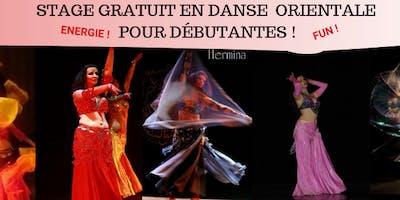 Stage GRATUIT en Danse Orientale pour Débutantes