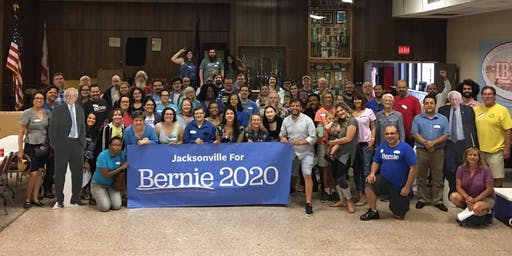 Bernie Sanders Volunteer Meeting