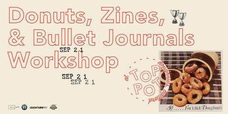 Donuts, Zines and Bullet Journals presented by All-Camp  tickets