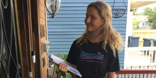 Arlington Door to Door Canvass for Bernie