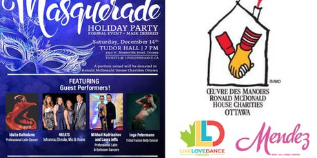 MASQUERADE HOLIDAY PARTY FOR RONALD MCDONALD HOUSE CHARITIES - OTTAWA tickets