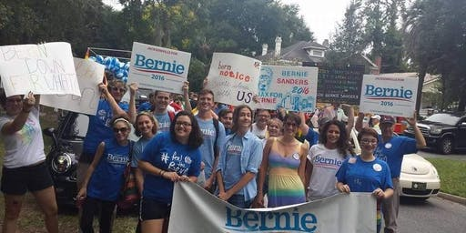 Bernie at River City PRIDE Parade