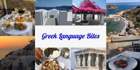 Greek Language Bites tickets
