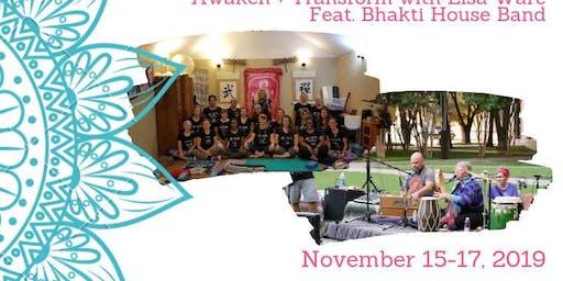 Inner Goddess Fall Yoga Retreat N. TX feat. Bhakti House Band!