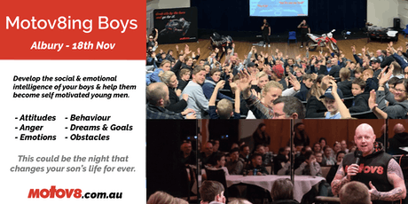 Motov8ing Boys - Albury tickets