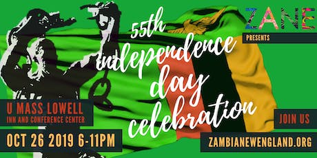 55th Zambia Independence Day Celebration tickets