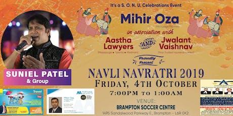 Navli Navratri 2019 with Suniel Patel & Group tickets