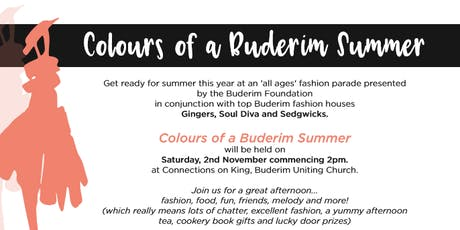 Colours of a Buderim Summer tickets