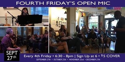BROOKLYN FOURTH FRIDAYS OPEN MIC