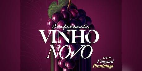 Conferência Vinho Novo ingressos