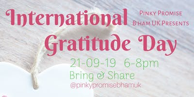 September Meet Up: Gratitude