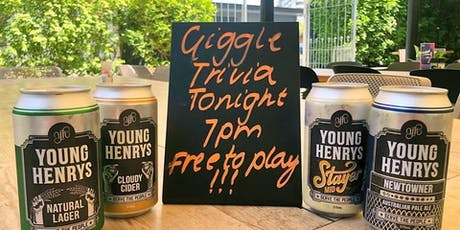 The Giggle Trivia Show! - Stafford Tavern Monday Nights!!! tickets