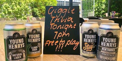The Giggle Trivia Show! - Stafford Tavern Monday Nights!!!