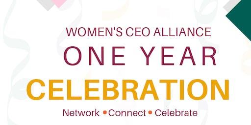 Women's CEO Alliance One Year Celebration