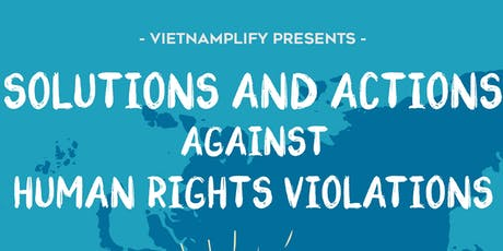 Vietnamplify Conference 2019: Solutions and Actions against Human Rights Violations billets