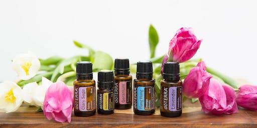 Holistic health with essential oils workshop