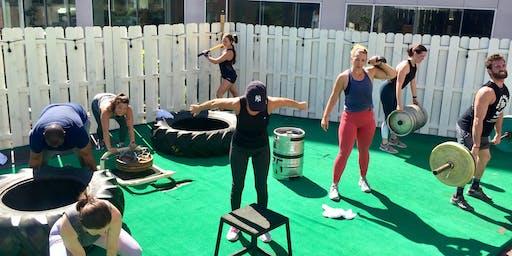 Power BURN  - Rooftop Workout Balance Gym Thomas Circle